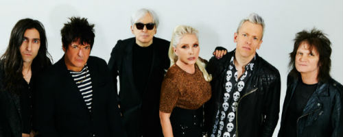 Photo of the band Blondie